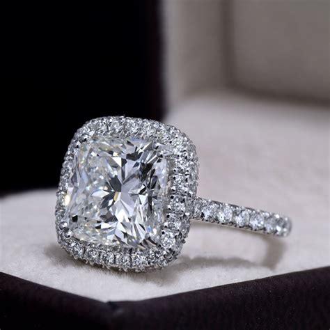 Cushion-CutHalo-Engagement-Ring