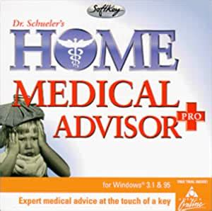 DR. SCHUELER HOME MEDICAL ADVISOR PRO COMPACT DISC MICROSOFTWINDOWSPIXEL PERFECT | Gps Store