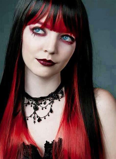 Dark-Red-HairGoth