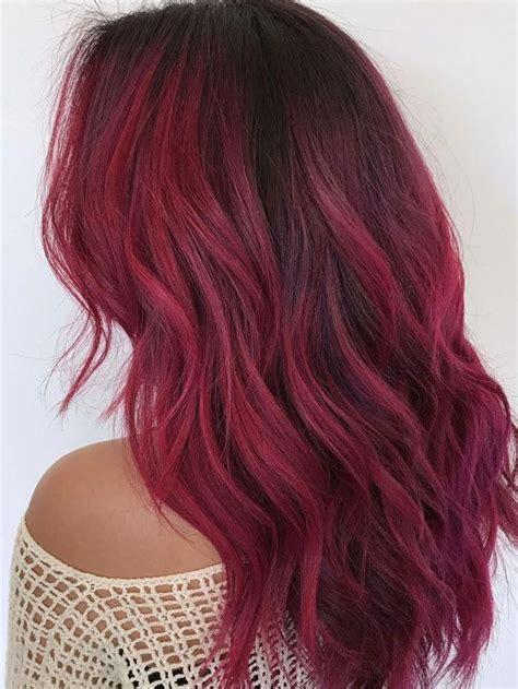 Dark-RedOmbre-Hair