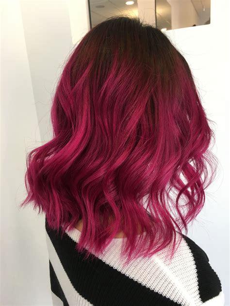 DarkPink-Hair