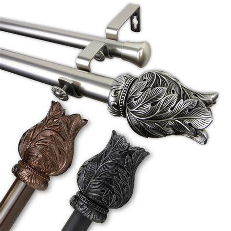 DecorativeDouble-Curtain-Rods