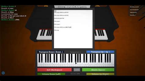 Despacito-RobloxPiano-Sheet