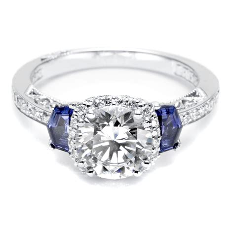 Diamond-Engagement-Ringswith-Sapphire-Accent