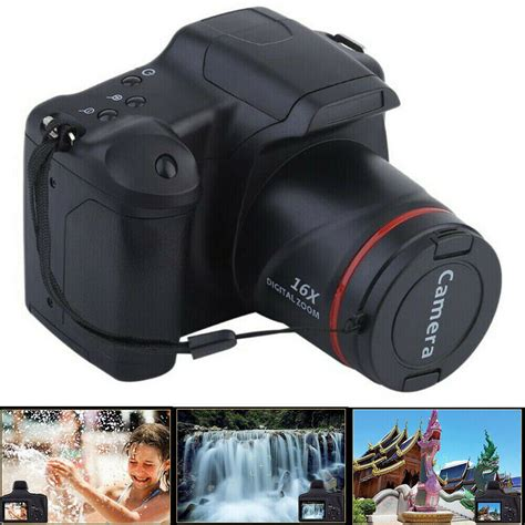 Digital Camera Vlogging Video SLR Camera 3.0 Inch 16x Zoom 1080P HD Anti shake | Digital Cameras