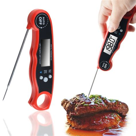 Digital Instant Read Food Cooking Meat Kitchen BBQ Thermometer Temperature US | Gps Store