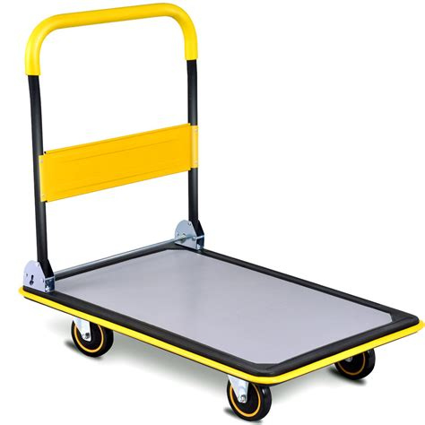 Dolly Collapsible Trolley Push Hand Truck | Watches Store Online Reviews