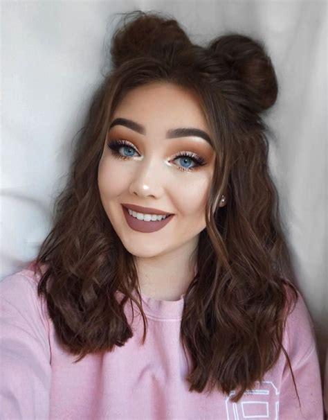 Easy-Hairstylesfor-Medium-Hair-Girls