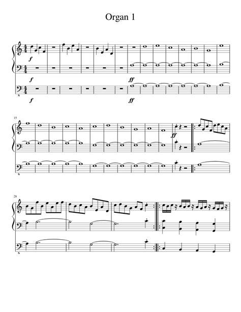 Easy-OrganSheet-Music