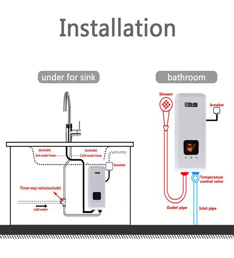 Electric-TanklessWater-Heater-Diagram
