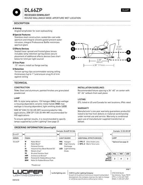 Electrical-SpecSheet