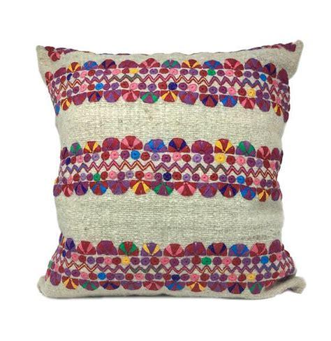 EmbroideredFlower-Pillows