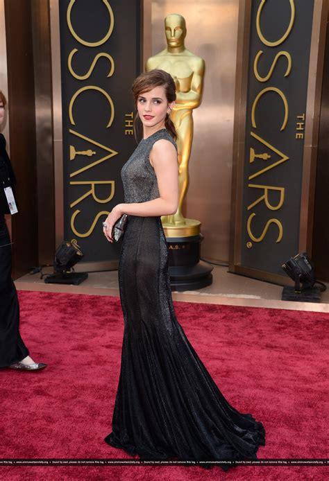 Emma Watson Academy Awards Red Carpet