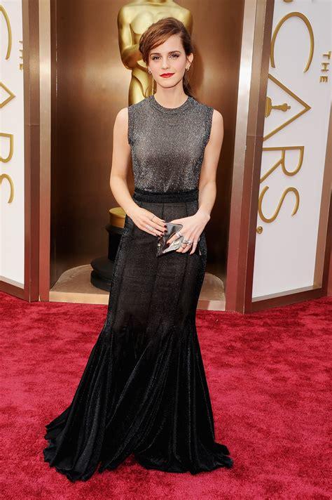 Emma Watson Oscars Red Carpet