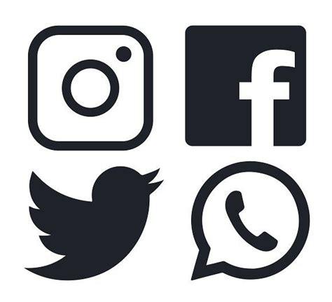 Facebook Twitter Instagram Logo Vector