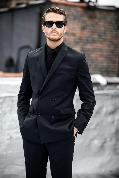 Fashion Men Clothing Black