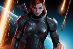 Female Shepard Final Space Battle