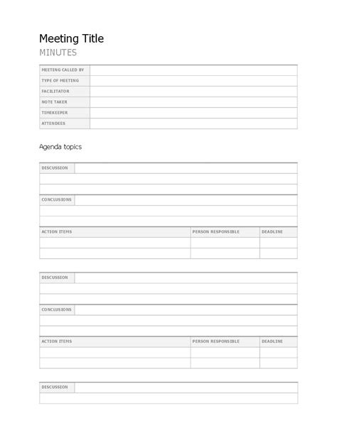 Fill-inMeeting-Minutes-Templates