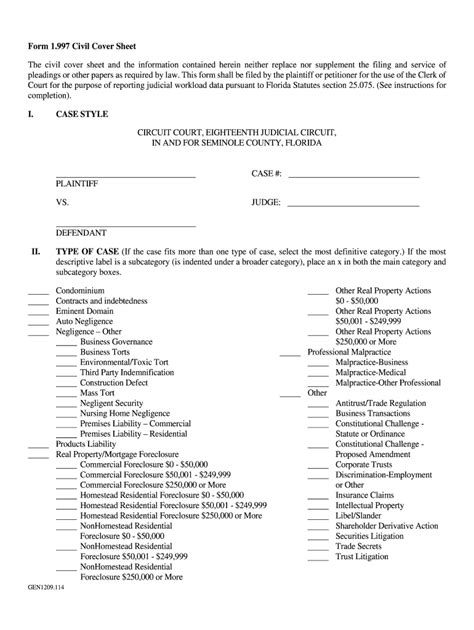 Filled-OutCivil-Cover-Sheet