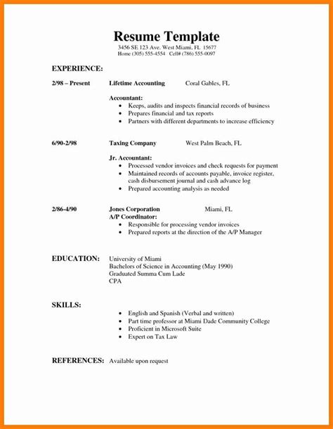 First-HighSchool-Student-Resume-Template