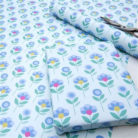 FlowerWrapping-Paper
