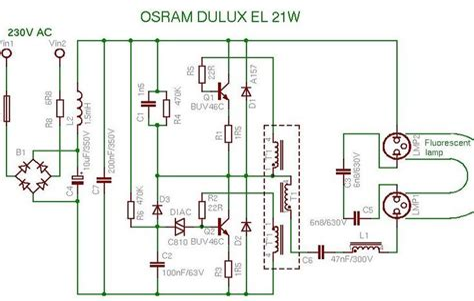 FluorescentLight-Circuit-Diagram