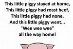 For to Stay Piggy Lyrics