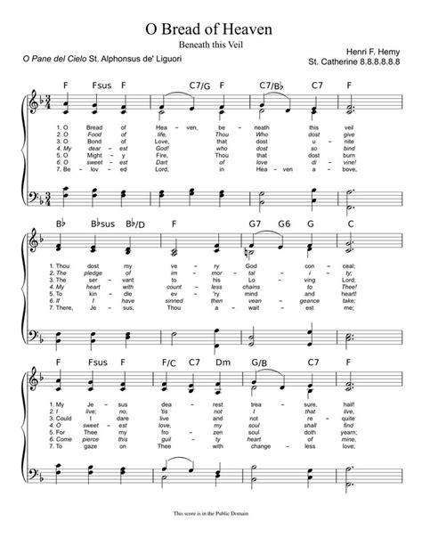 Free-Catholic-HymnsSheet-Music