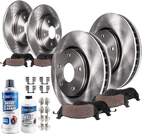 Front And Rear Brake Rotors & Ceramic Pads 2003 2004 2005 2006 2007 Jeep Liberty | Watches Store Online Reviews