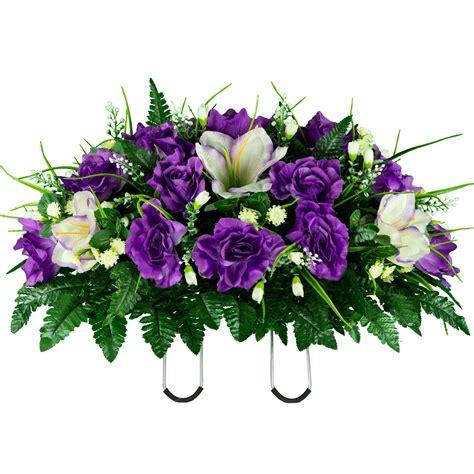 Funeral-SilkFlower-Arrangements
