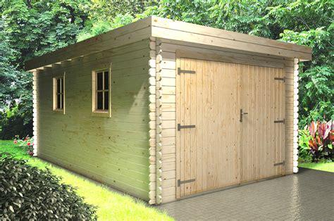 Garage-Holz