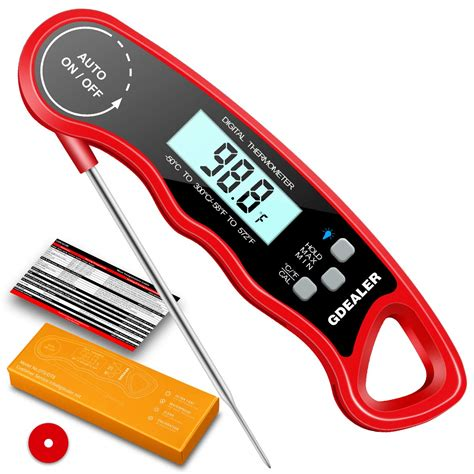 Gdealer Super Fast Read Food Digital Instant Thermometer Meat Bbq Thermapen Us . | Gps Store