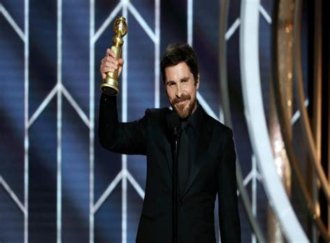 Golden Globes Christian Bale Satan