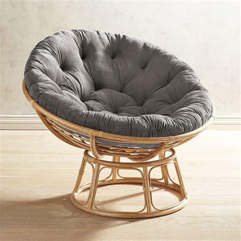 Gray-PapasanChair-Cushion
