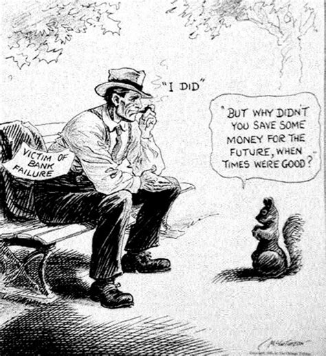 Great Depression Political Cartoons
