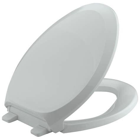 GreyElongated-Toilet-Seat