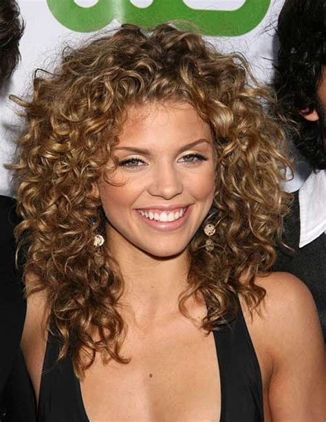 HD wallpapers hairstyles of medium curly hair Page 2
