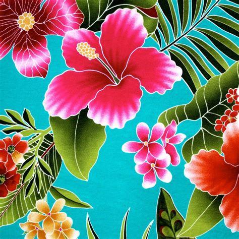 Hawaiian-FlowerPrint