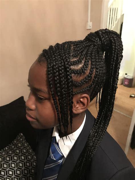 High-Ponytailwith-Braids