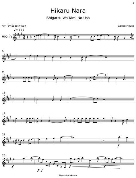 Hikaru-Nara-SheetMusic-BB