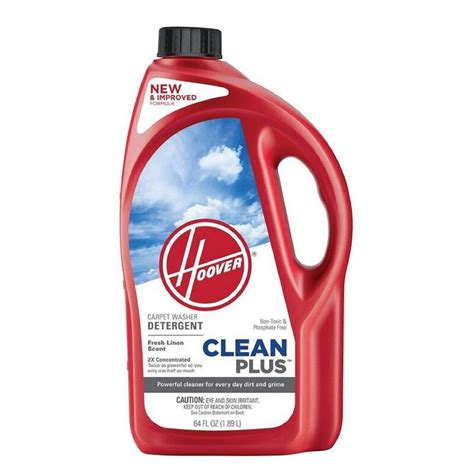 Hoover Clean Plus 64 oz 2x Carpet Cleaner Cleaning Solution Power Deodorizer | Gps Store