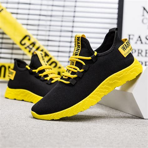 Hot Sports Breathable Men\'s Sneakers Shoes Casual Fashion Running Athletic Shoes | Gps Store