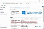 How to Check Windows 1.0 32 or 64-Bit