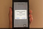 How to Update Software Update On iPhone 5 When It Says Unable to Update