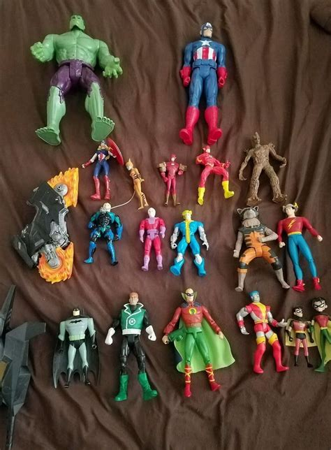 Huge Lot Of 90\'s Marvel ToyBiz Figures X Force X Men Spider Man Hulk Iron Man | Watches Store Online Reviews