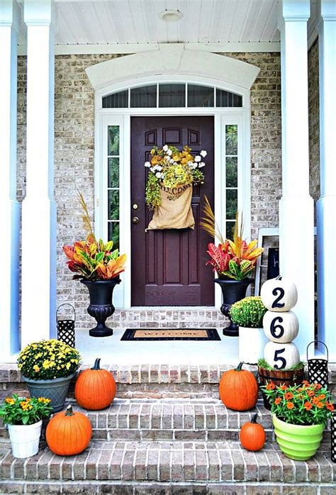 Inexpensive Outdoor Fall Decorating Ideas