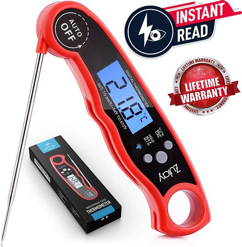 Instant Read Digital Food Meat Thermometer for Kitchen Cooking BBQ Grill Smoker | Gps Store