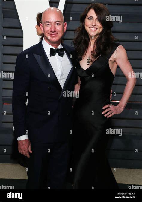 Jeff Bezos Vanity Fair Oscar Party