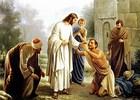 Jesus Heals Leprosy