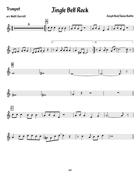 Jingle-Bell-Rock-TrumpetSheet-Music